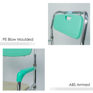 ABS Armrests and PE Blow Moulded Backrest
