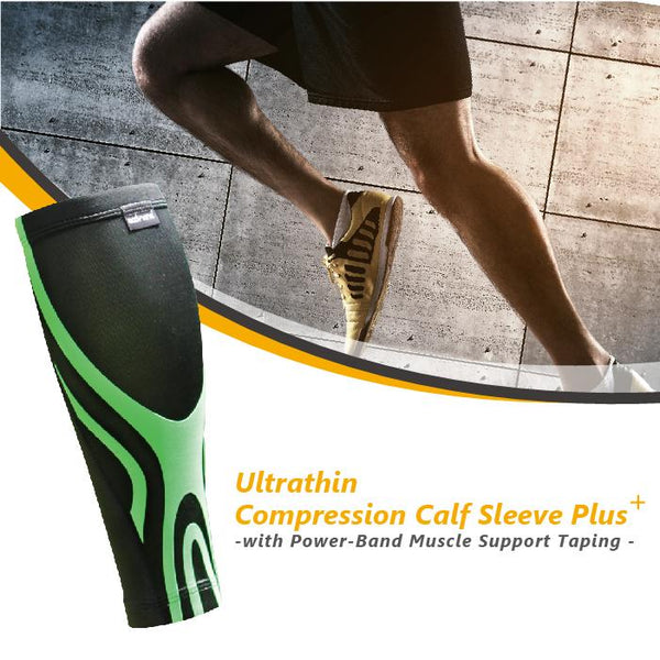 BODYVINE Ultrathin Compression Calf Sleeve PLUS