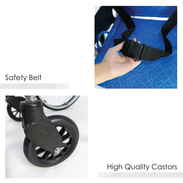 Safety Belt & Castors