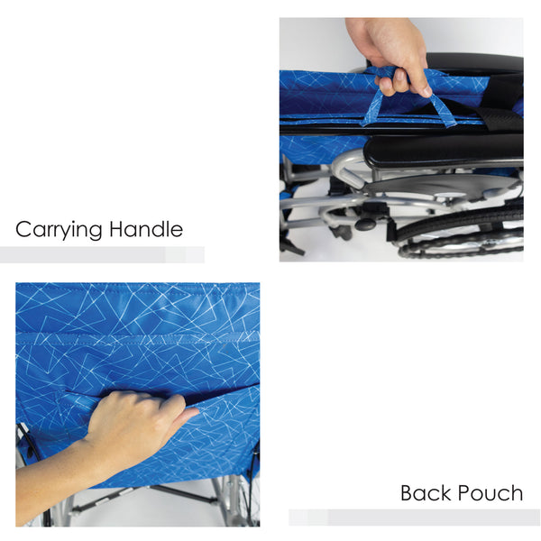 Carrying Handle & Back Pouch