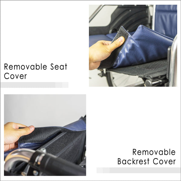 Removable Seat Cover and Removable Backrest Cover