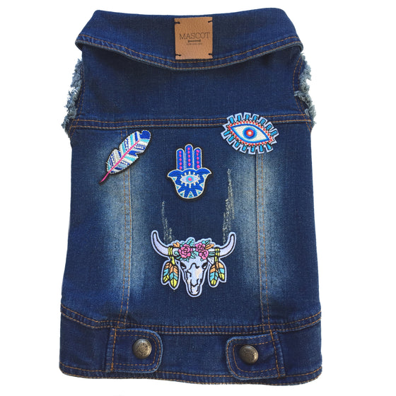 The Coachella Girl Denim Vest