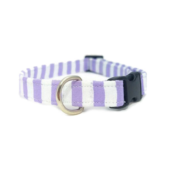 Lilac Stripe Collar