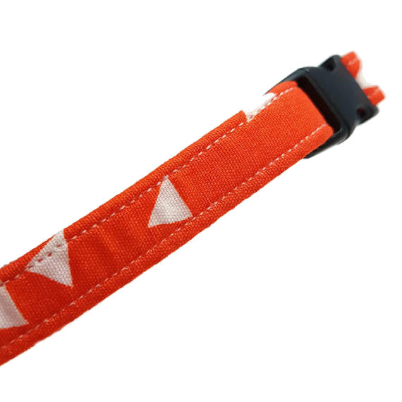 Orange Triangle Collar