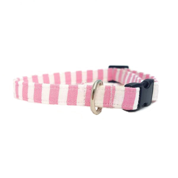 Pink Stripe Collar