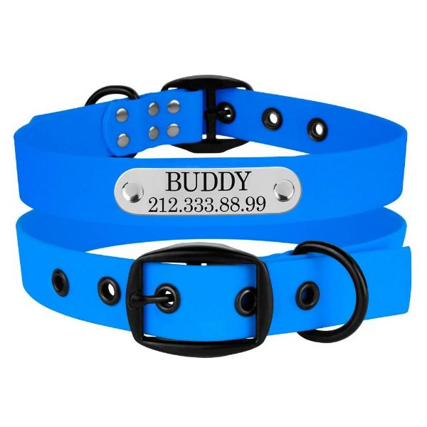 Custom Adventureproof Collar - Blue