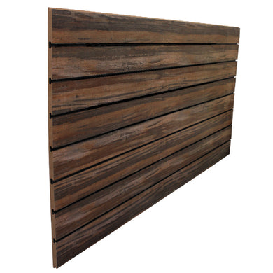 Multi Wood Grain Slatwall - 18mm