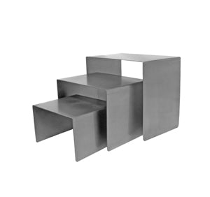 Cube Set - Raw Steel