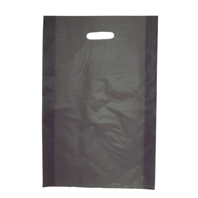 Die Cut Handle Frosted Bag - 14