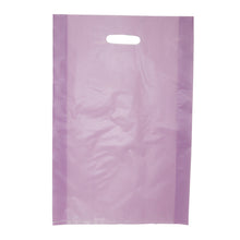 "Die Cut Handle Frosted Bag - 14"" x 21"" x 3"""