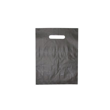 "Die Cut Handle Frosted Bag - 9"" x 12"""