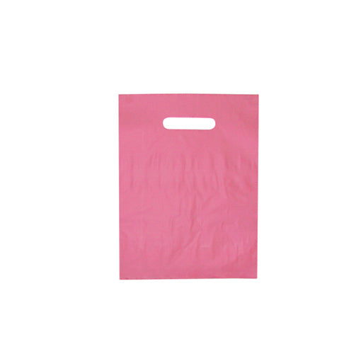 Die Cut Handle Frosted Bag - 9