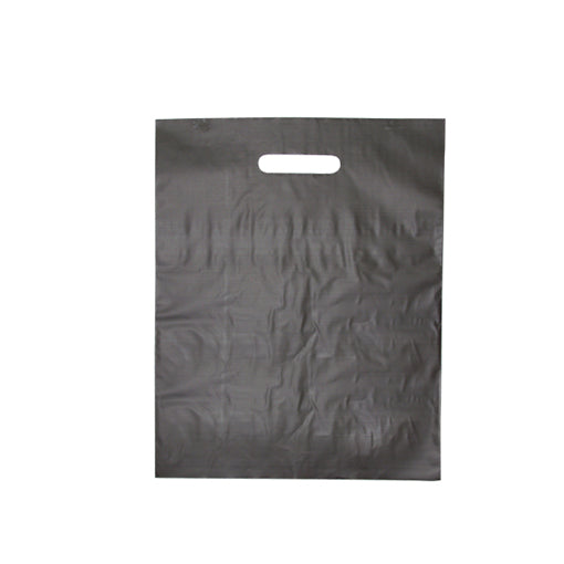 Die Cut Handle Frosted Bag - 12
