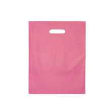 "Die Cut Handle Frosted Bag - 12"" x 15"""