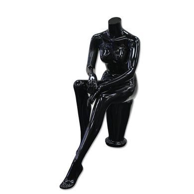 Female Seated Headless Mannequins
