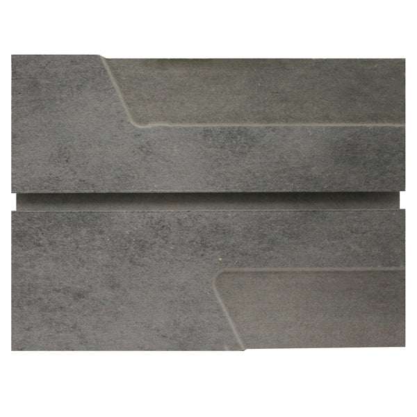Gray Heavy Metal Slatwall