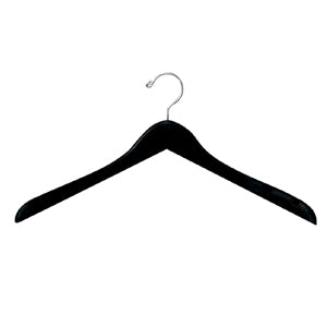 H200 Series - Contoured Wood Shirt and Blouse Hanger - Notched