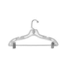 "Heavy Weight Suit Hanger : 17"" Clear"