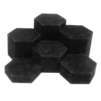 Hexagonal Display Set - Black