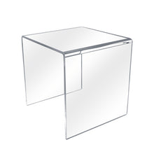 Cube Acrylic Risers - 3-sided