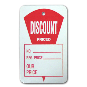 Large Discount Price Tag