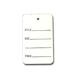 Large Merchandise Tag