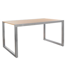 Large Table - Satin Chrome