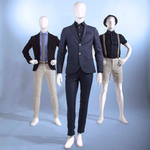 Male Mannequin with Oval Head