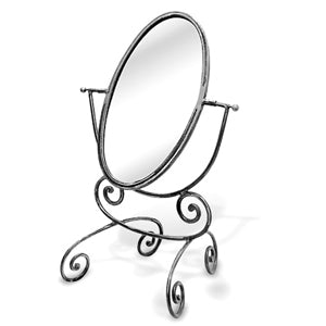 Oval Counter Mirror