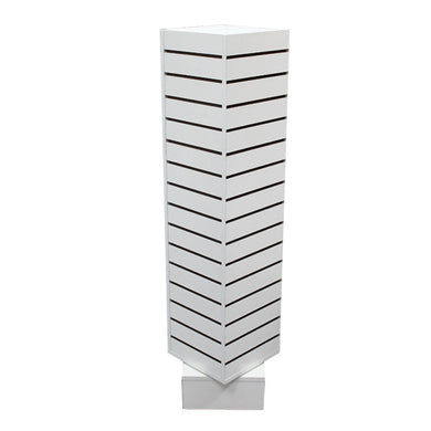 Revolving Slatwall Tower Display – Small