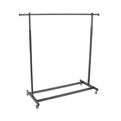 Single Raw Steel Rolling Rack-Rectangular Tubing