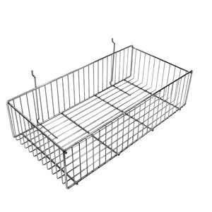12″ Wide Slatwall Basket