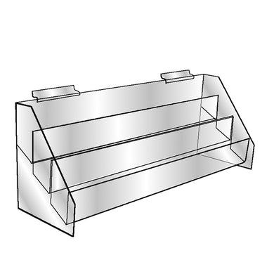 Slatwall Three Tier Bin