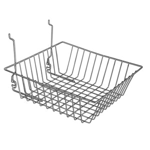 12″ Wide Sloping Basket