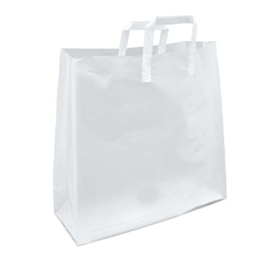 Soft Loop Handle Frosted Bag - 16