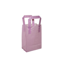 "Soft Loop Handle Frosted Bag - 5"" x 7"" x 3"""