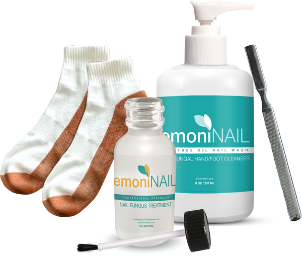 EmoniNail Complete Finger and Toenail Fungus Removal Kit