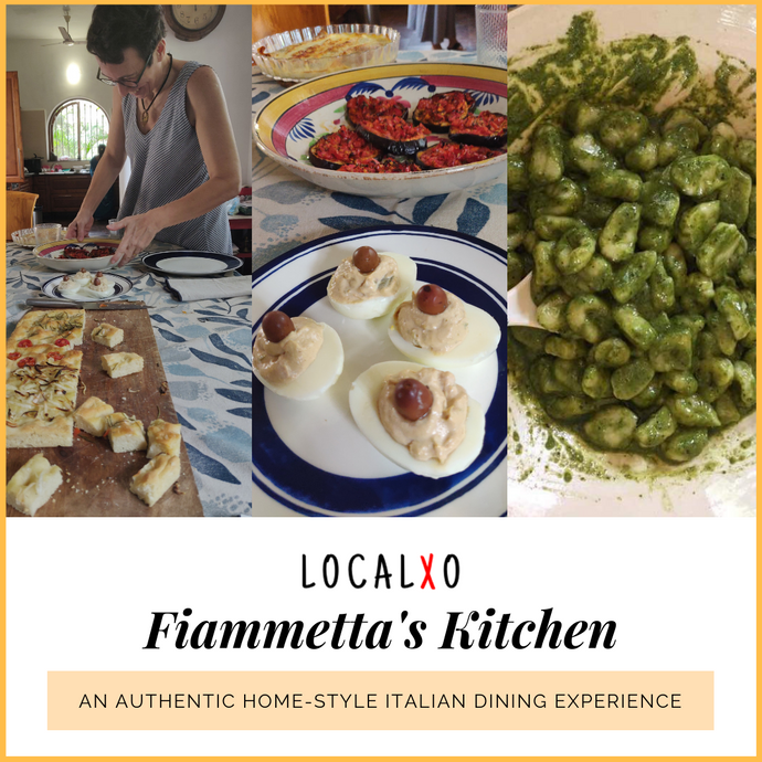 Italian Escape to Fiammetta's Kitchen