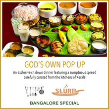 Bangalore Special: God's own pop up dinner