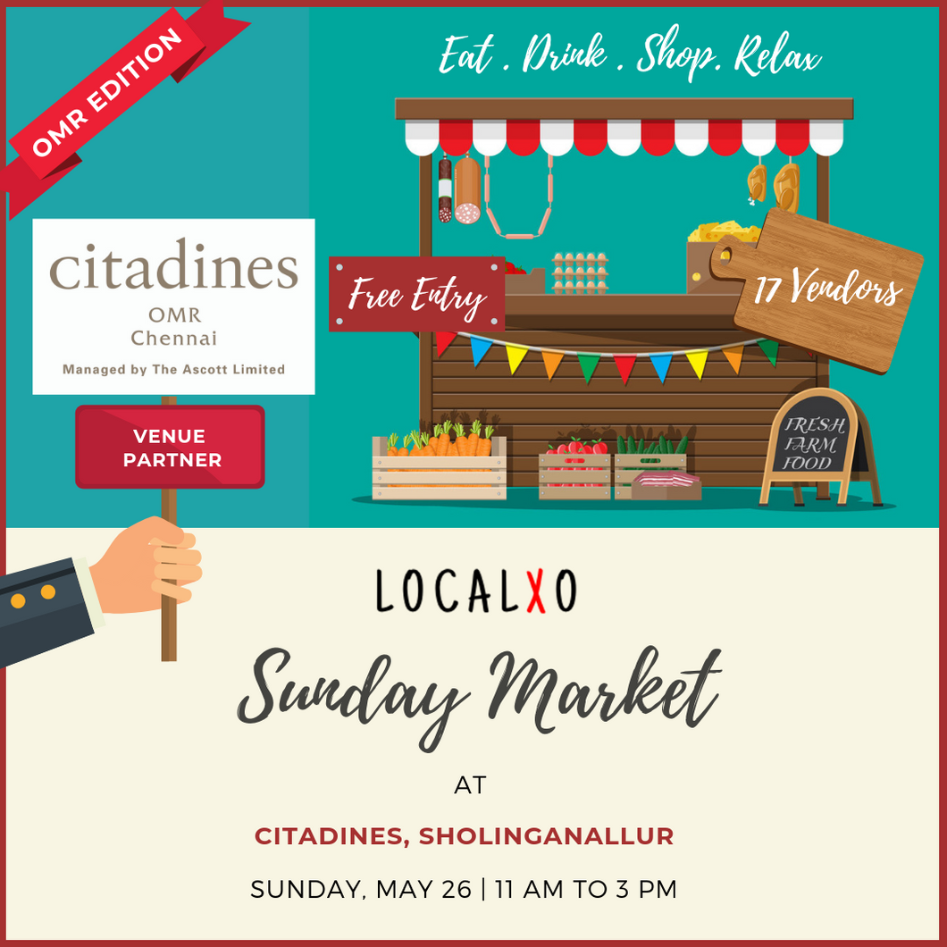 Sunday Market at CITADINES