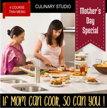 Mother's Day Special (Adults): If mom can cook, so can you!