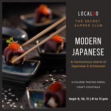 The Secret Supper Club: Modern Japanese