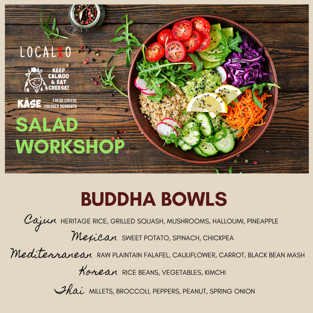 BUDDHA BOWLS Salad Workshop
