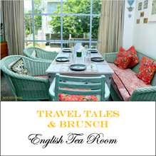 Travel Tales & Brunch at The English Tea Room