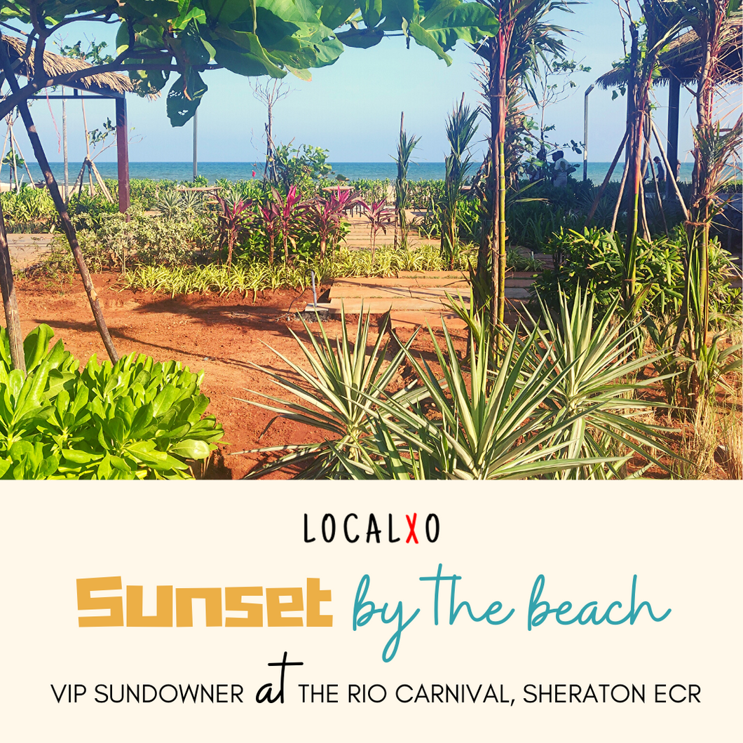 VIP Sundowner at The Rio Carnival