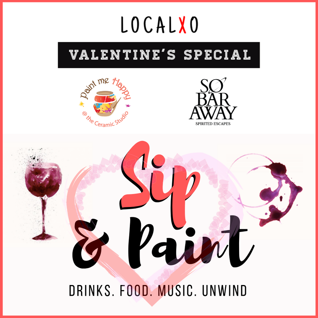 Valentines Special : Sip & Paint