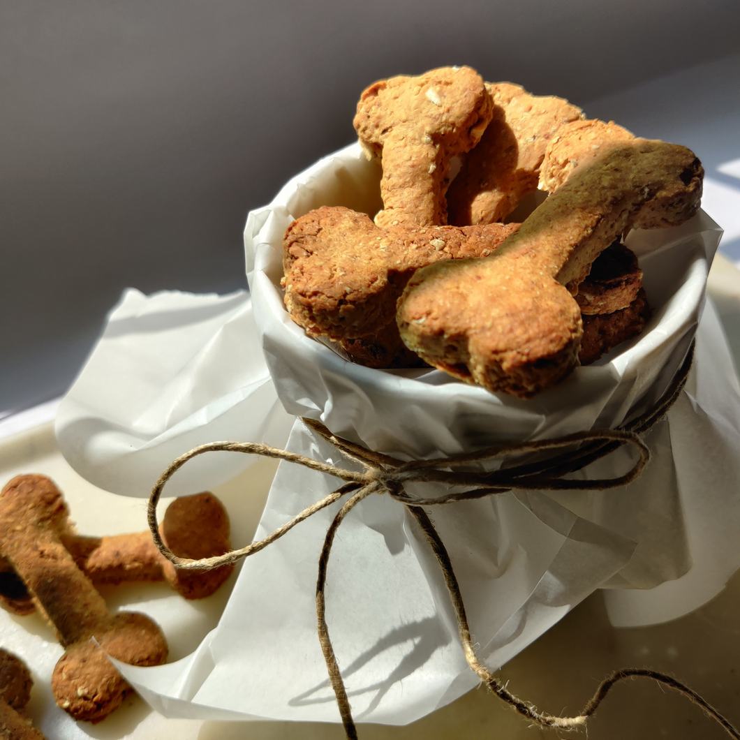 Dog Treats - Bacon & Cheddar Biscuits