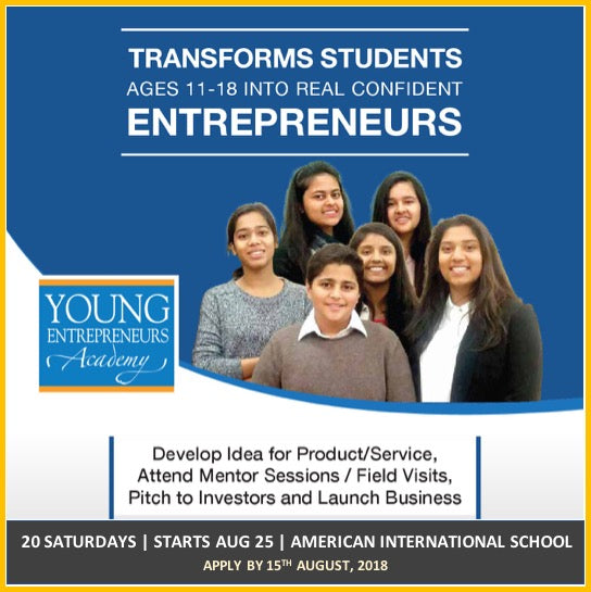 Entrepreneurship Program for Young Adults!