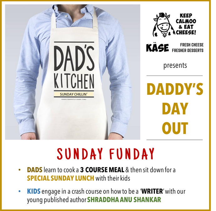 Daddys Day Out: Dads learn to cook, Kids learn to write