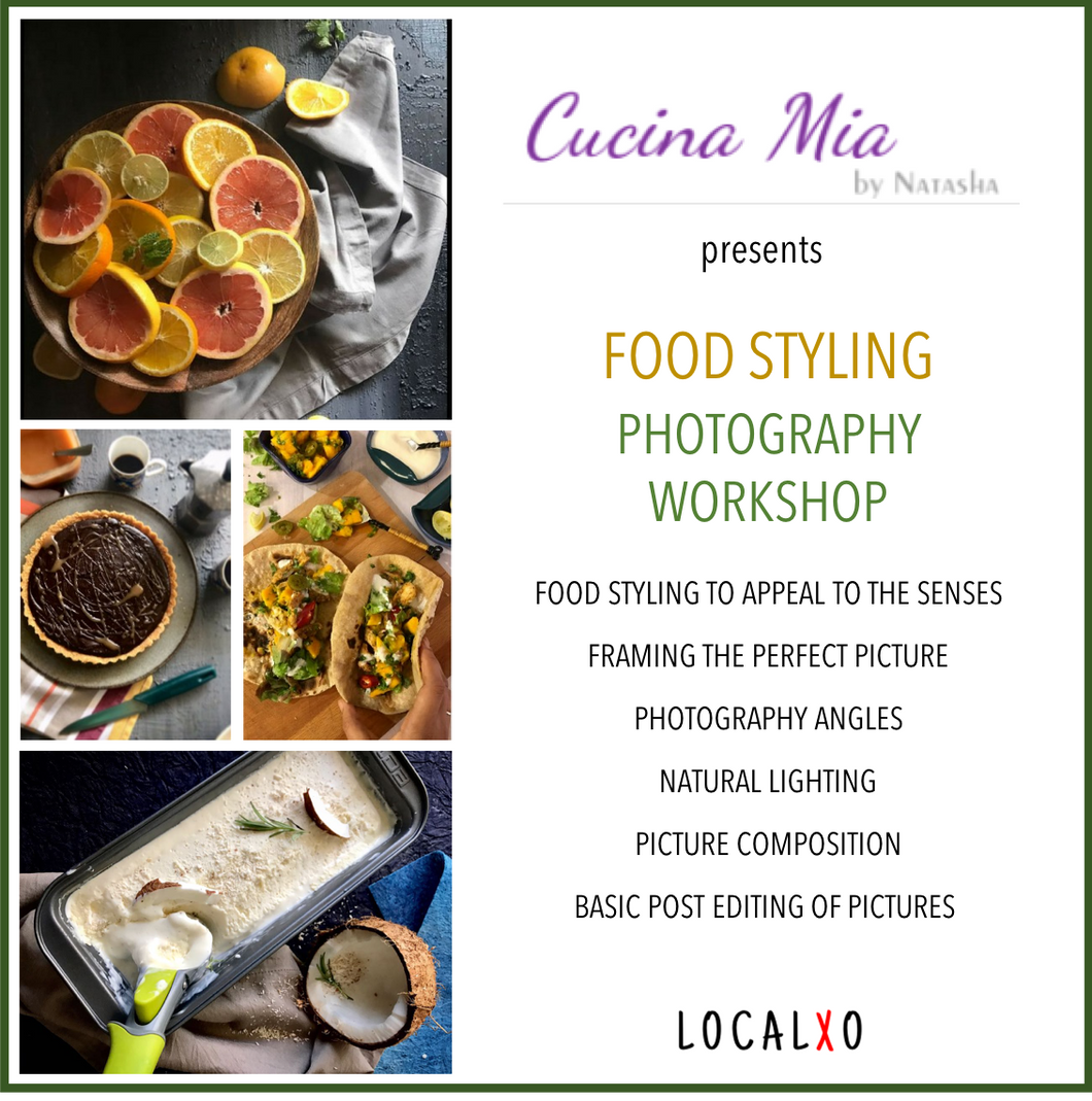 Food Styling Photography Workshop